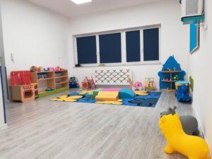 Sala dla dzieci w żłobku Lwa Leona w Gdańsku